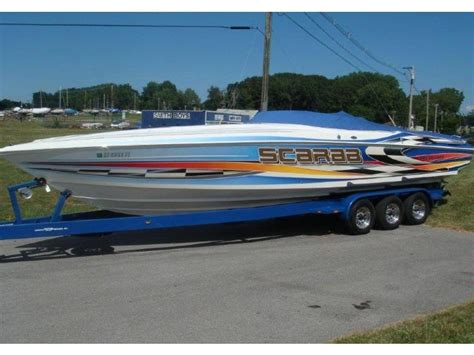 Scarab Boat Accessories by Scarab 33 Avs Cuddy In New York Speedboats Used 52544