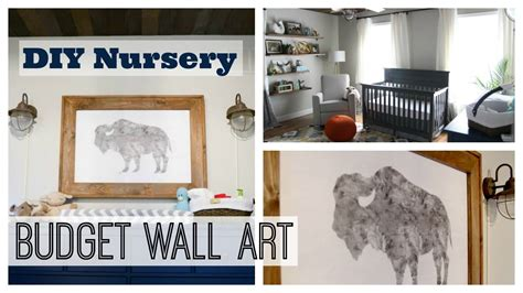 Boy Nursery Decor On A Budget