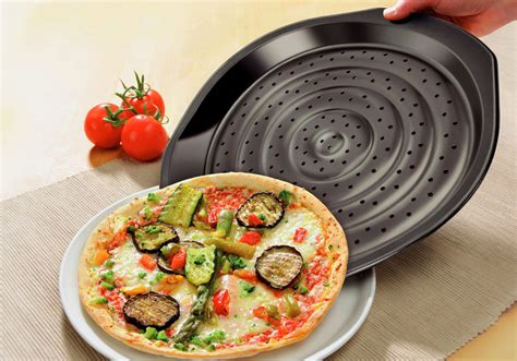 kaiser nonstick crossini pizza french fry pan set cutlery