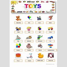Toys Worksheet  Free Esl Printable Worksheets Made By Teachers