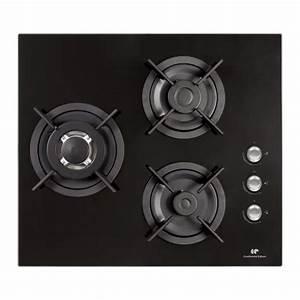 Table Cuisson Gaz : continental edison ctg3vb table de cuisson gaz 3 foyers ~ Melissatoandfro.com Idées de Décoration