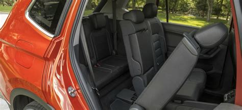 Touareg 3rd Row Seat by Seating Capacity Of The 2018 Volkswagen Tiguan