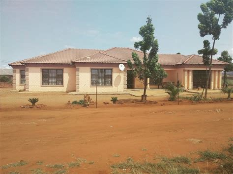rural flat roof houses  limpopo modern houses