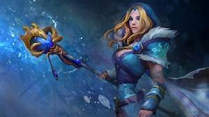 Rylai, the Crystal Maiden (HQ Wallpaper) - DOTA 2 Wallpapers