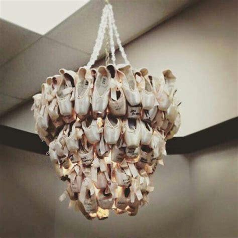 shoe chandelier pointe shoe chandelier ballet decor pointe