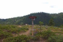 School Canyon-Little Badger Creek Trail Junction - Hiking ...