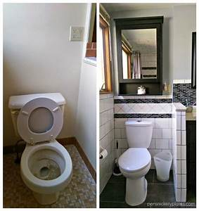 Toilette Auf Spanisch : persnickety house bathroom before and after photos persnickety plates ~ Buech-reservation.com Haus und Dekorationen