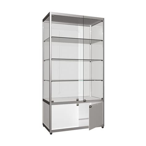 """Tower Showcase """"Wide – with Storage"""""""