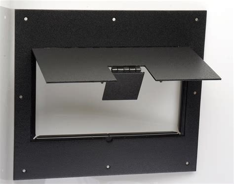 fsr floor boxes fl 600p fsr fl 600p blk c cover no flange with hinged door in