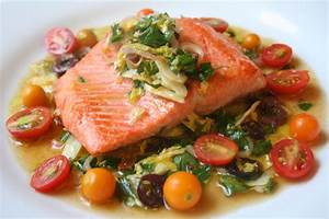 What Did You Eat?: WHB: Salmon With Kalamata Olive, Orange ...