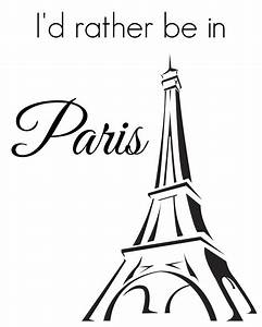 French-Themed Printable Art Girl in the Garage®