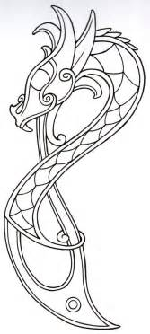 viking designs this would be beautiful done in batiks on a quilt viking outline2 by vikingtattoo on