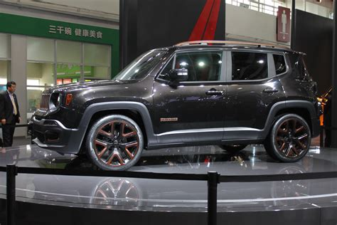 Jeep Unveils Chinese Inspired Renegade Apollo Concept At