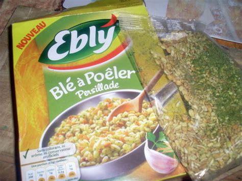 comment cuisiner ebly cassolettes d 39 escargots sur lit de blé à poêler ebly