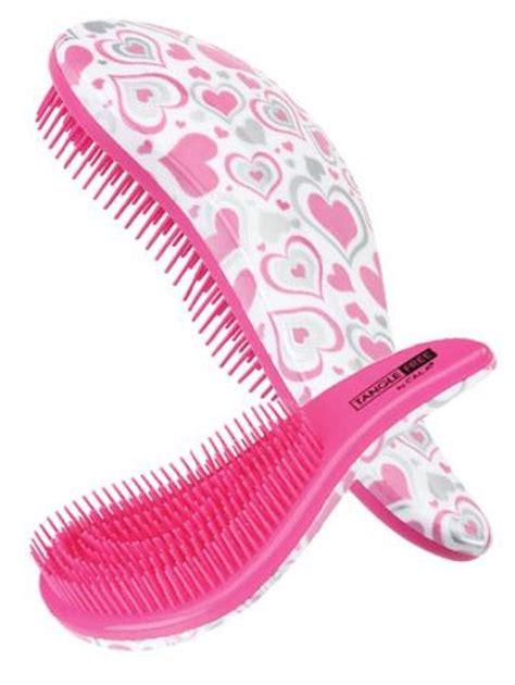 Amazon.com : NEW Cala TANGLE FREE Hair Brush (Pink/Leopard