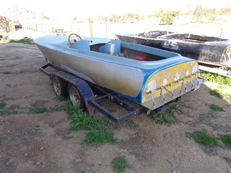 Flat Bottom Boat Deck by Hallett Deck Flat Bottom 1967 For Sale For 375