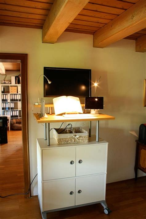 Ikea Standing Desk Hutch by 20 Diy Desks That Really Work For Your Home Office