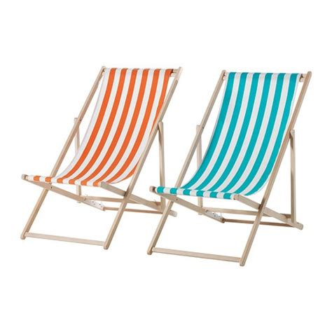 chaise de plage 10 easy pieces folding deck chairs gardenista