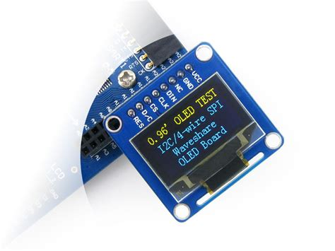 '' Inch Oled Display Module B Vertical Pinheader