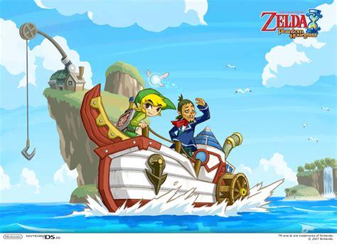The Legend Of Zelda Phantom Hourglass Arrives On Wii U