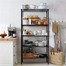 Home Kitchen Garage Wire Shelving 5 Shelf Storage Rack