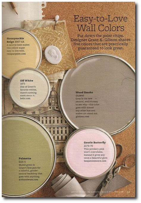 better home and gardens featured paint shades paint