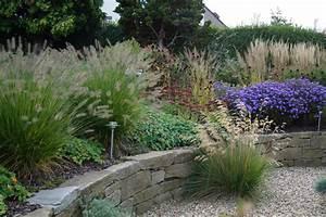 Beet Im Garten : beet mit gr sern garten und schwimmteich nach zwei jahren ~ Lizthompson.info Haus und Dekorationen