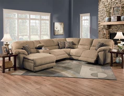 Living Room With Recliners by Furniture Rivers Collection Featuring Power