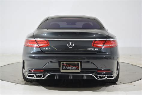 Used 2016 Mercedes-benz S63 Amg Coupe For Sale