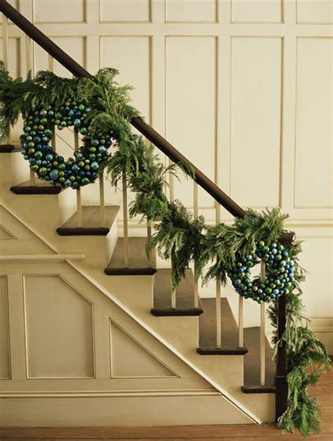 stairway garland top 40 staircase garland designs for christmas christmas celebration