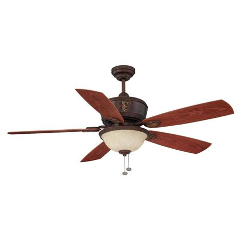 porch ceiling fans with lights shop litex 52 in antique bronze indoor outdoor downrod