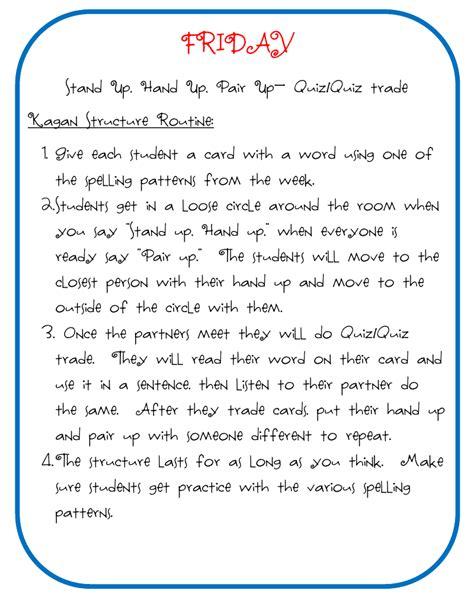 teacher word wall routine
