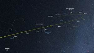Comet ISON Tracking Through Gemini – The Soggy Astronomer
