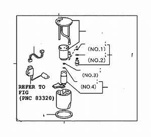 Toyota Rav4 Fuel Pump Wiring Harness  Tank  Tube  Body