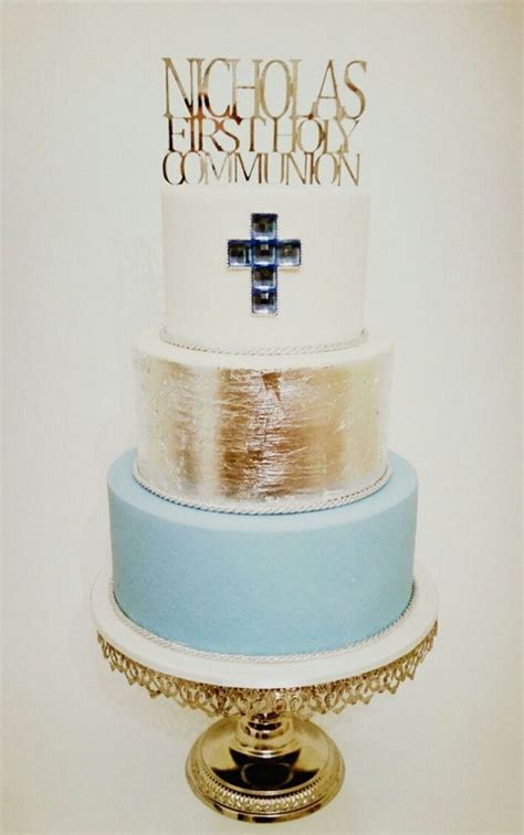 personalised  holy communion cake topper perfect