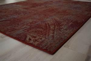 Teppich 90 X 200 : patchwork teppich teppichboden rot 200x200 cm billerbeck ~ Markanthonyermac.com Haus und Dekorationen