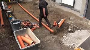 Drainage Hauswand Aufbau : keller au enwandsanierung neue drainage umbauma nahmen der kellertreppe und fenster youtube ~ Whattoseeinmadrid.com Haus und Dekorationen