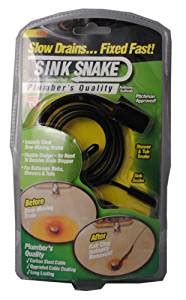 Sink Clog Remover Walmart by Sink Snake Drain Hair Removal Clog Tool As Seen On Tv