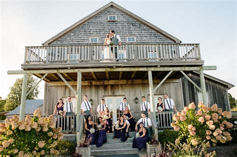 long island vineyard weddings martha clara wedding