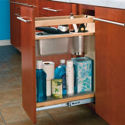 Cabinetorganizers  Vanity And Base Cabinet Pullout