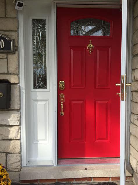 perfect red door i used sherwin williams in heartthrob