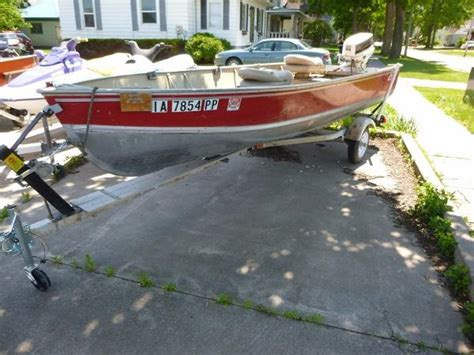Lund Boats For Sale In Iowa by Lund 1984 Tiller Boats For Sale In Iowa