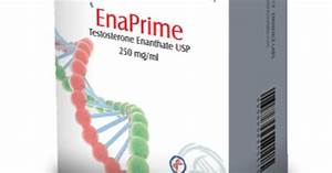 Enaprime  Testosterone Enanthate  10 Ampoules  250mg  Ml