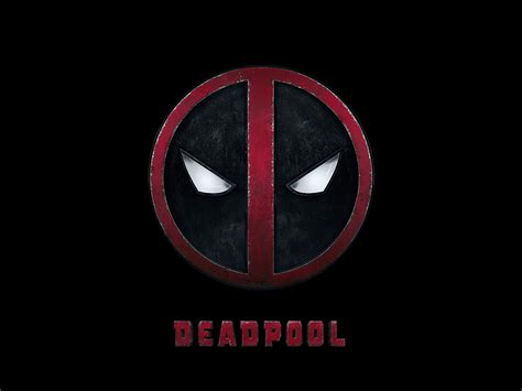 ap deadpool logo dark art hero wallpaper