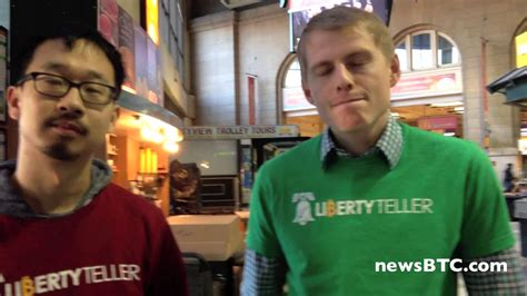Blockchains are not the only solution for those in search of alternatives to big tech's power. Chris & Kyle of LibertyTeller on Boston's First Bitcoin Vending Machine - YouTube