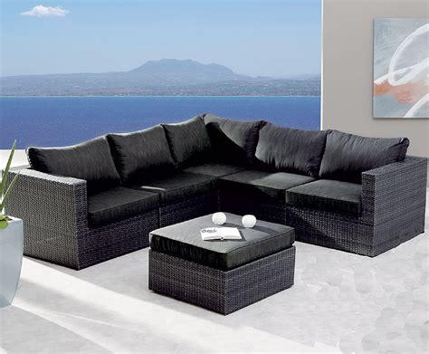 lounge set polyrattan best 6tlg lounge set aruba alu polyrattan 98896053
