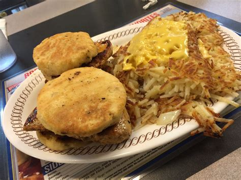 Waffle House Chicken Biscuit