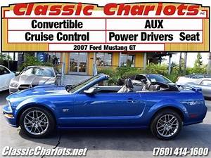 **sOLD**Used Car Near Me - 2007 Ford Mustang GT Convertible with Convertible, AUX, and Power ...