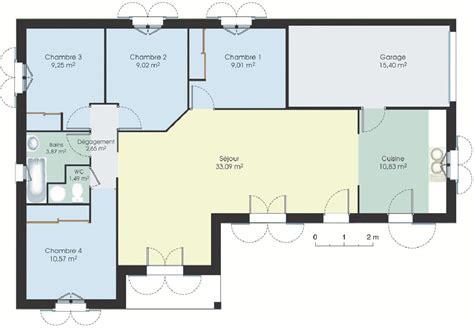 plan de maison plain pied 3 chambres gratuit plan maison gratuit plan de maison moderne gratuit a