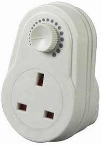 plug in dimmer 13a adjustable light control switch uk With outdoor plug in light dimmer